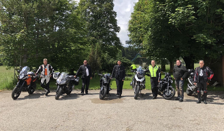 Töff Tour Gwärbler Muhen
